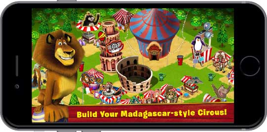 Madagascar - Mobile Games Development for Movie Promotions - [x]cube LABS